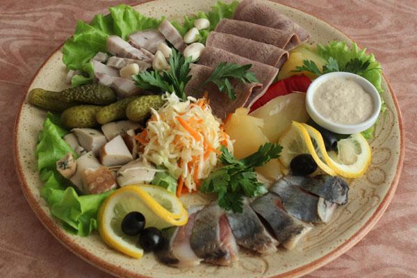 Праздничное блюдо из баклажанов фото